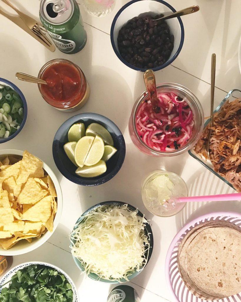 100 tacos og 100 gin tonics senere er humret perfekthellip
